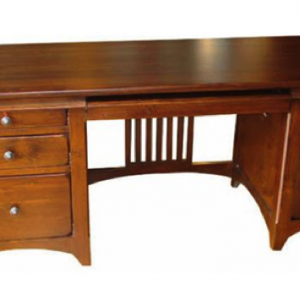 MAYNE Double Pedestal Desk