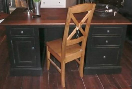 WOODLOVE Double Pedestal Desk-WoodLove Furniture